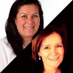 Rosana Echigo e Rejane Rodrigues