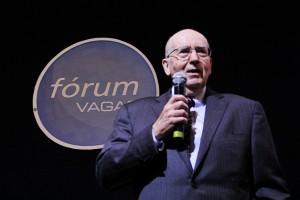 Kotler em palestra no auditório Fórum VAGAS