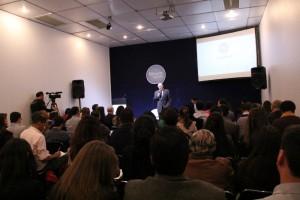 Auditório Fórum VAGAS durante palestra de Kotler