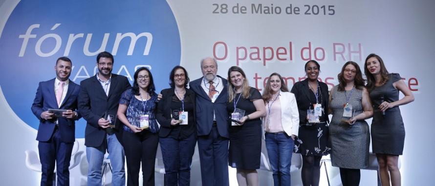 Vencedores do prêmio VAGAS 10+ no Fórum VAGAS