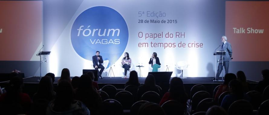 Fórum VAGAS - Talk show com especialistas de RH