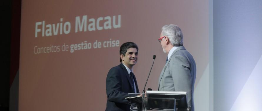 Eugenio Mussak e Flávio Macau Fórum VAGAS